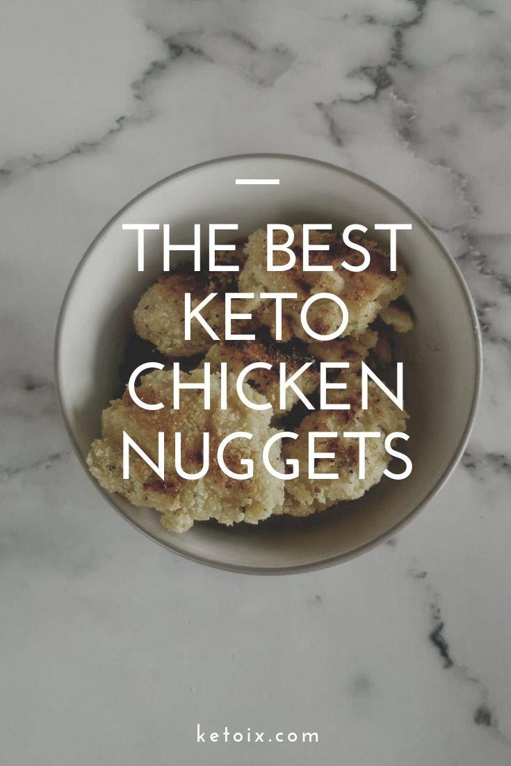 The best keto chicken nuggets